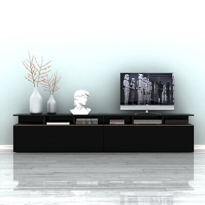 Esman 46 TV Stand Color: Noce / High Gloss Black