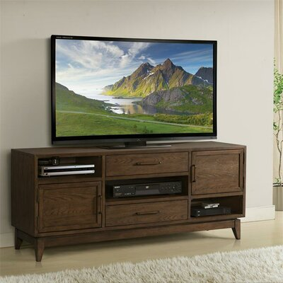Workman 66 TV Stand Color: Plymouth Brown Oak