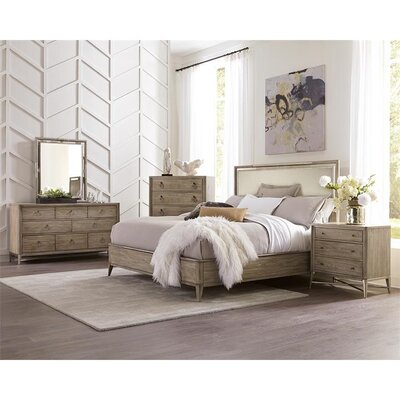 Almazan Upholstered Panel Headboard Size: Queen