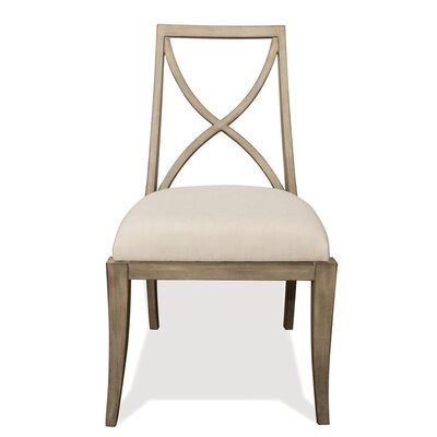 Almazan X-Back Solid Wood Dining Chair (Set of 2)