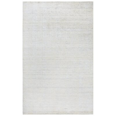 Hadley Hand-Woven White Area Rug Rug Size: Runner 5 x 8