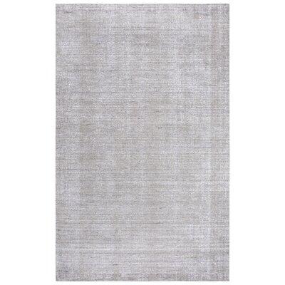 Hadley Shag Hand-Woven Light Gray Area Rug Rug Size: Runner 5 x 8