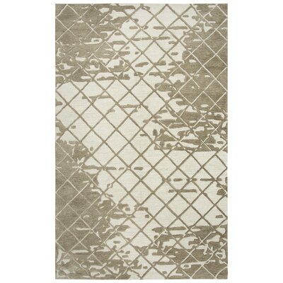 Lovelace Hand-Woven Wool Brown Area Rug Rug Size: Runner 5 x 8