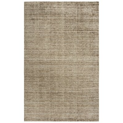Hadley Hand-Woven Medium Brown Area Rug Rug Size: Runner 5 x 8