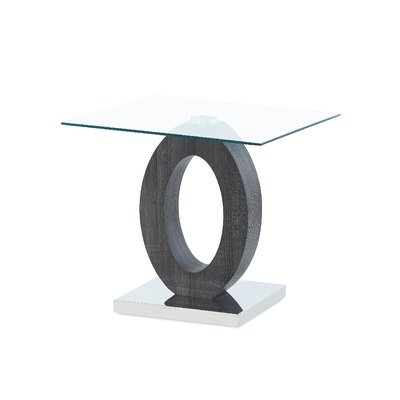Spurrier Oval Style Base End Table