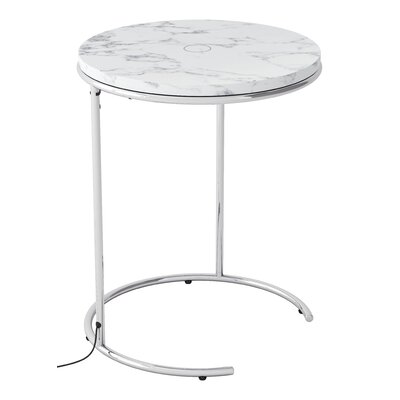 Shryock Wireless Charging End Table
