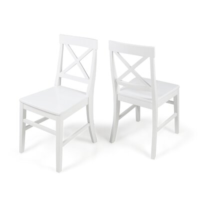 Hitz Dining Chair Color: White