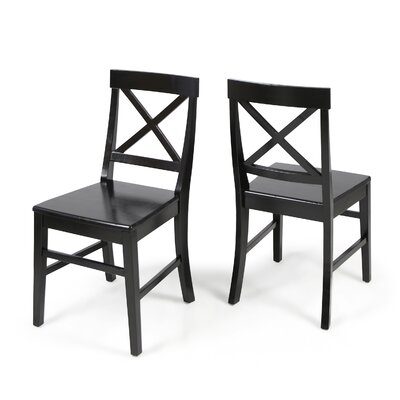 Hitz Dining Chair Color: Black
