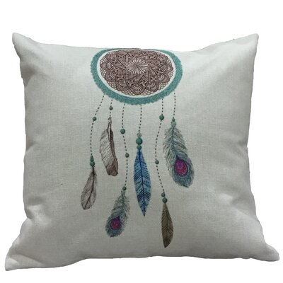 Rapoza Dream Catcher III Cotton Throw Pillow