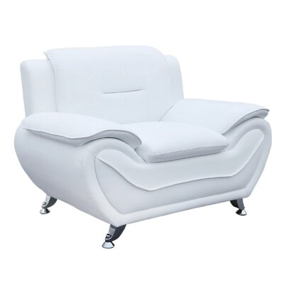 Segura Club Chair Upholstery : Cream White