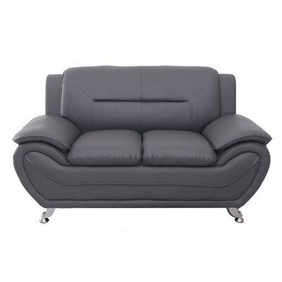 Segura Loveseat Upholstery : Grey