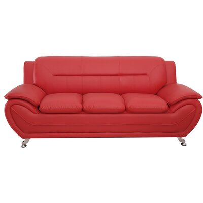Segura Sofa Upholstery : Red