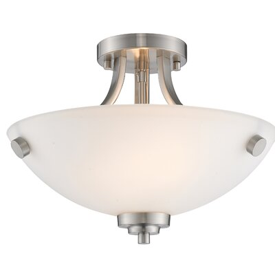 Hirst 2-Light Semi Flush Mount