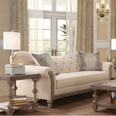 Larrick Fabric Tufted Standard Sofa