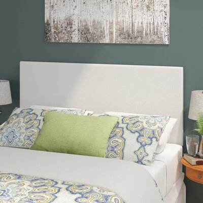 Albers Upholstered Panel Headboard Size: Queen, Upholstery: Gray