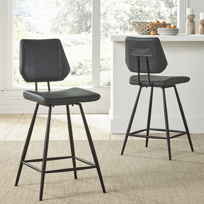 Greaney 24 Swivel Bar Stool (Set of 2)