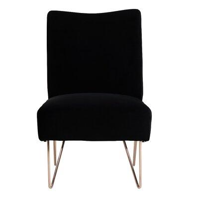 Helmuth Slipper Chair Upholstery: Black