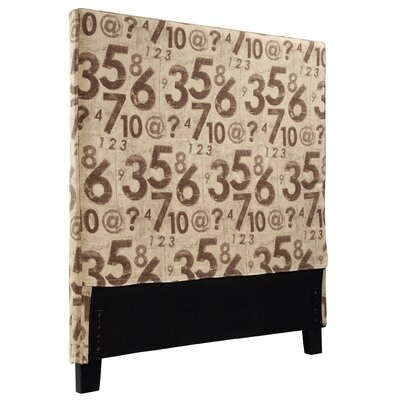 Gerzik Counting Twin Upholstered Panel Headboard