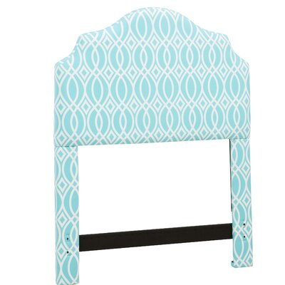 Feltman Upholstered Panel Headboard Size: Full/Queen, Color: Teal