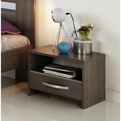 Spraggins 1 Drawer Nightstand