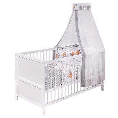 Babybett Komplett Hailey   Kinderzimmer > Babymöbel > Babybetten & Babywiegen   White   Baumwolle - Polyester - Massivholz   Viv + Rae
