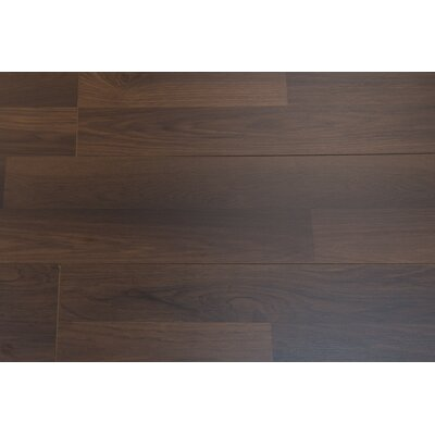 Porto 9 x 48 x 8mm Hickory Laminate Flooring in Carob