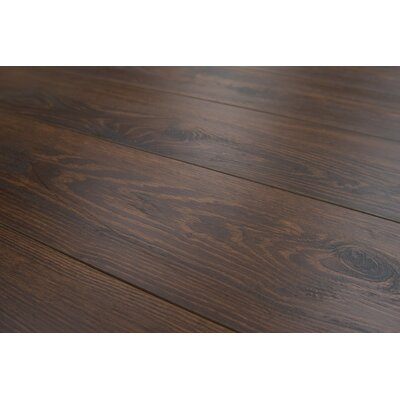 Lucerne 7 x 48 x 12mm Oak Laminate Flooring in Mocha