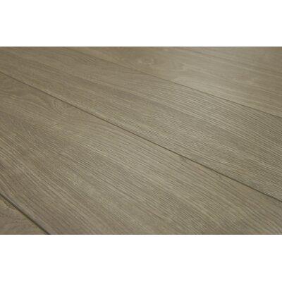 Lucerne 7 x 48 x 12mm Oak Laminate Flooring in Quartz