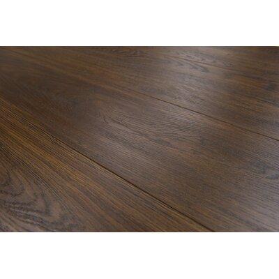 Lucerne 7 x 48 x 12mm Oak Laminate Flooring in Brown
