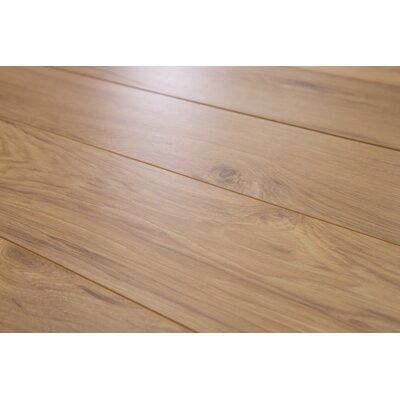 "Brighton Vario 6"" X 48"" X 10mm Hickory Laminate Flooring In Biscotti"
