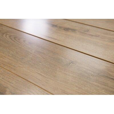 Brighton Vario 6 x 48 x 10mm Oak Laminate Flooring in Brown