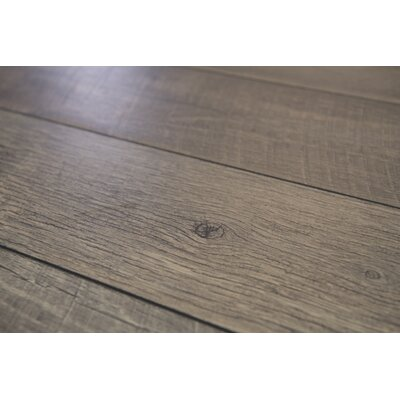Geneva Prestige 6 x 48 x 12mm Oak Laminate Flooring in Gray