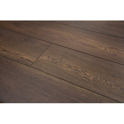Brighton Vario 9 x 48 x 10mm Oak Laminate Flooring in Leather