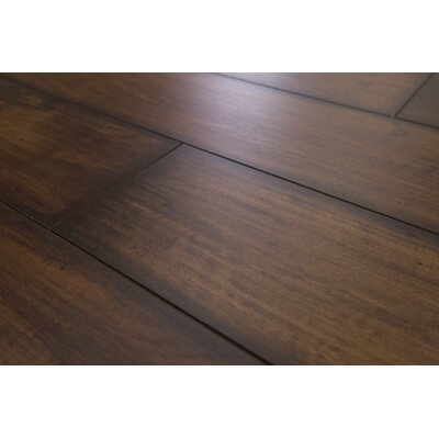Geneva Prestige 6 x 48 x 12mm Maple Laminate Flooring in Dark Chocolate
