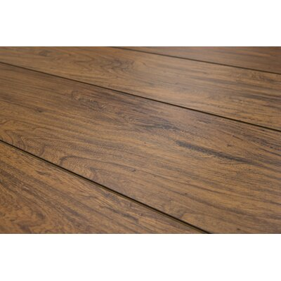 Geneva 8.5 x 48 x 8mm Elm Laminate Flooring in Light Brown