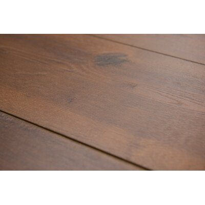 Geneva 8.5 x 48 x 12mm Hickory Laminate Flooring in  Medium Brown