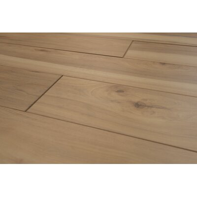 Geneva Prestige 6 x 48 x 12mm Hickory Laminate Flooring in Brown