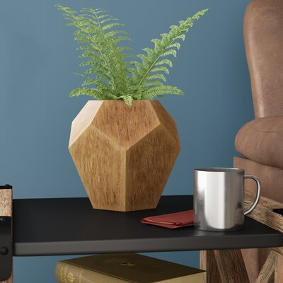 Short Wood Table Vase UNRS3329 40758485