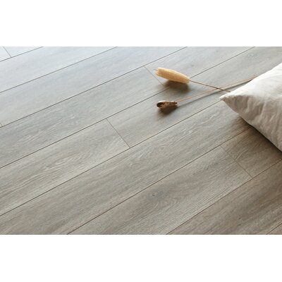 Lucerne 7 x 48 x 12mm Oak Laminate Flooring in Smoke
