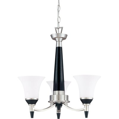 Helle 3-Light Candle-Style Chandelier