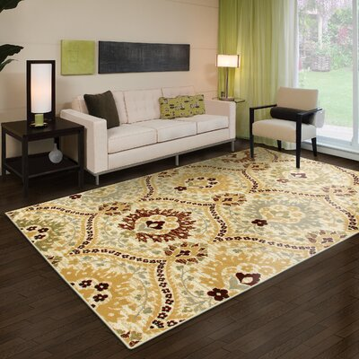 Horrocks Camel Area Rug Rug Size: Rectangle 5 x 8