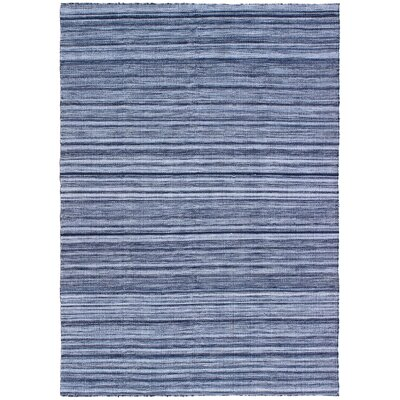 Englund Ombre Hand-Woven Blue Indoor/Outdoor Area Rug Rug Size: Rectangle 36 x 56