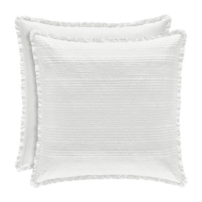 Leavell Sham Size: Standard, Color: White