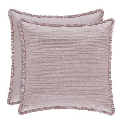 Leavell Sham Size: Standard, Color: Lavender