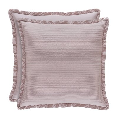 Leavell Cotton Throw Pillow Color: Lavender