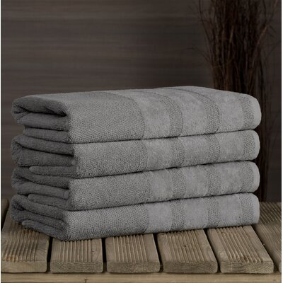Cressex Bath Towel Color: Gray