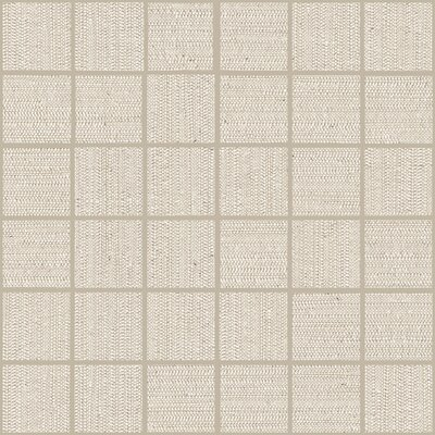 Denim 2 x 2 Porcelain Mosaic Tile in Beige