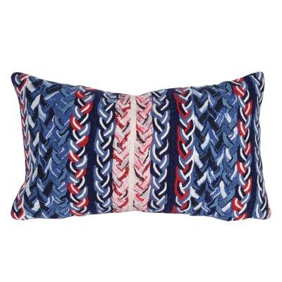 Englishcombe Braided Stripe Indoor/Outdoor Lumbar Pillow
