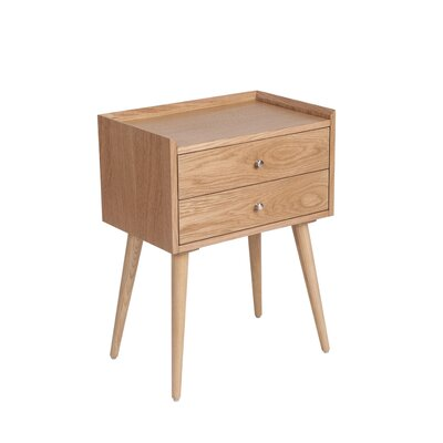 Waldon End Table with Storage