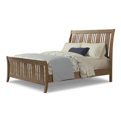 Huber Sleigh Headboard Size: California King